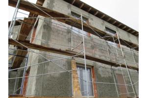 Оштукатуривание фасадов