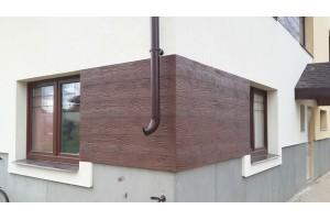 Фасад  под фактуру брошюрованного дерева