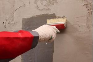 Подготовка стен под приклейку утеплителя