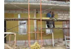 Выводятся полосы Фасадной сетки