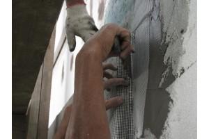 Формируется «Конверт» из Фасадной стеклотканевой сетки