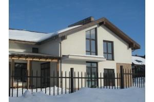 Утепление коттеджного посёлка Пестовская Гавань, 2006-2008 годы