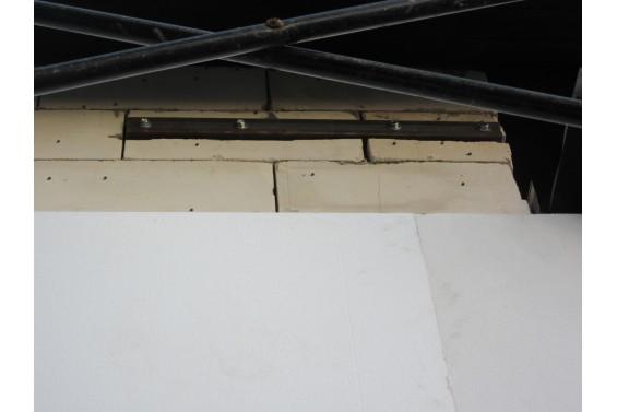 Усиление стен, борьба с трещинами в газобетоне