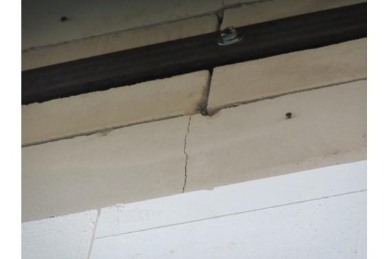 Устраняем трещины в наружных стенах из газоблоков