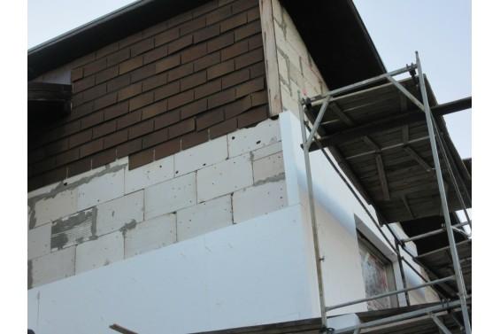 Реконструкция фасадов газобетонного дома