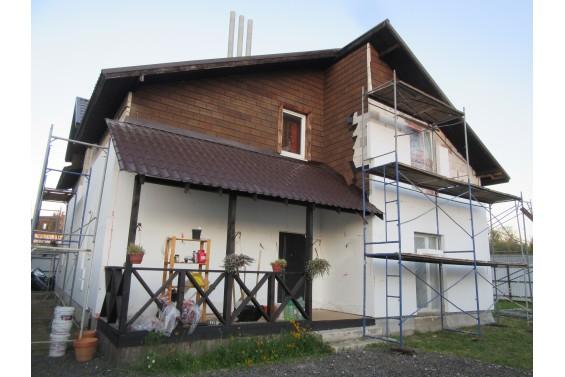 Реконструкция фасадов дома, построенного на продажу
