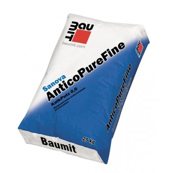 Штукатурка Baumit Sanova AnticoPureFine