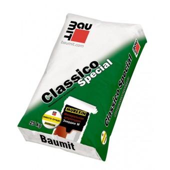 Минеральная декоративная штукатурка Baumit Classico Special «шуба» 1.5 мм
