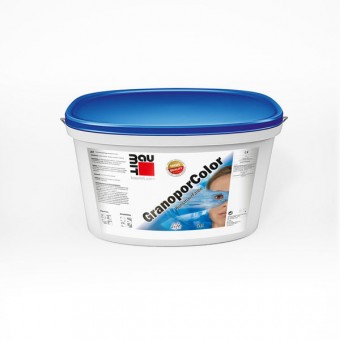 Краска Baumit GranoporColor на основе полимерного вяжущего