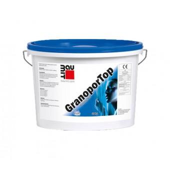 Полимерная декоративная штукатурка Baumit GranoporTop «короед»