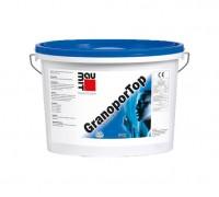 Полимерная декоративная штукатурка Baumit GranoporTop «короед» 3 мм