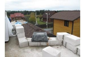 Перевязка блоков ячеистого бетона