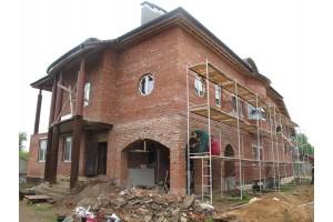Дом без  утепления и отделки фасадов