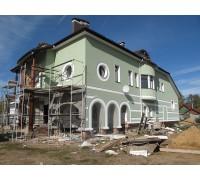 Утеплению фасадов кирпичного дома пенополистиролом по системе Ceresit