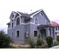 Утепление фасада частного дома пенополистиролом ПСБ-С 25Ф