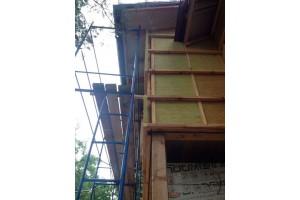 Утепляем дом минераловатной плитой Baswool 80 кг/ м3
