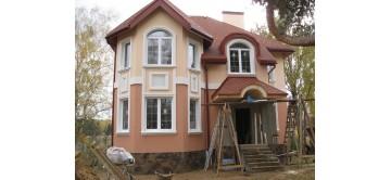 Утепление фасада дома из теплой керамики