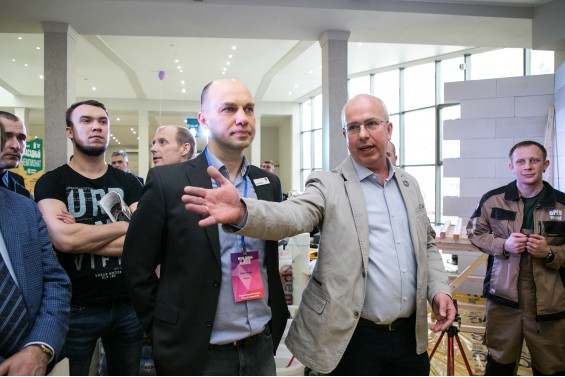 Борис Второв и Сергей Алёхин открывают Фасадный Чемпионат
