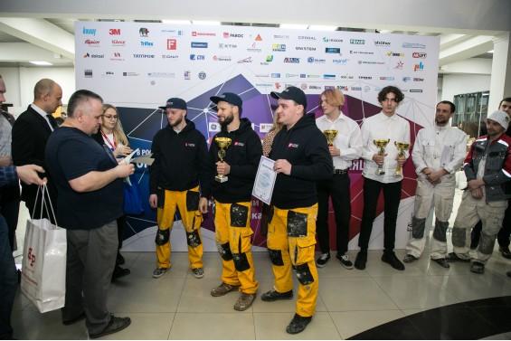 Денис Никольский, Nadegniy поздравляет , занявших третье место