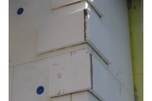 Декоративные элементы устанавливаются на фасад