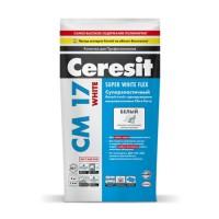Клей для плитки Ceresit CM 17 White