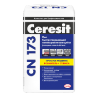 Стяжка Ceresit CN 173 для выравнивания пола (от 6 до 60 мм)