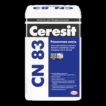 Стяка Ceresit CN 83 для выравнивания пола (толщина слоя 5-35 мм)