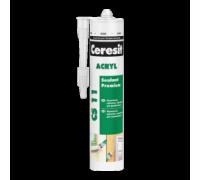 Герметик Ceresit CS 11 акриловый белый, 280 мл