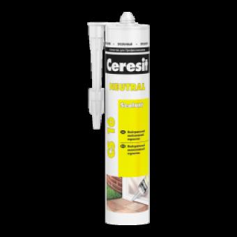 Герметик Ceresit CS 16 нейтральный прозрачный, 280 мл