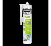 Герметик Ceresit CS 23 для стекла белый, 280 мл