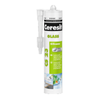 Силиконовый герметик Ceresit CS 23 для стекла