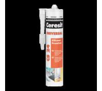 Герметик Ceresit CS 24 универсальный белый, 280 мл