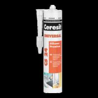Герметик Ceresit CS 24 универсальный прозрачный, 280 мл