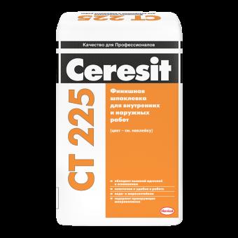Финишная шпаклевка Ceresit CT 225 серая, 25 кг