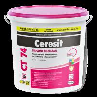 """Декоративная штукатурка Ceresit CT 74 """"камешковая"""" для внутренних и наружных работ, 1,5мм"""