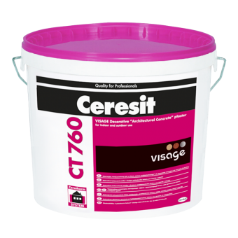 Штукатурка Ceresit CT 760 Visage ChicGr, 20кг
