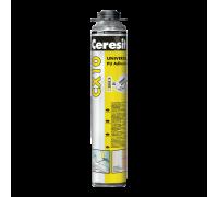 Полиуретановый клей Ceresit CX 10 универсальный, 850мл