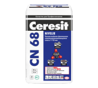 Стяжка Ceresit СN 68 для выравнивания пола (толщина слоя 1-15 мм)