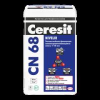 Стяжка Ceresit СN 68 для выравнивания пола (1-15 мм)