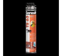 Монтажная пена Ceresit TS 65 МЕГА, 850 мл