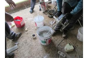 Моделируемую цементную штукатурку