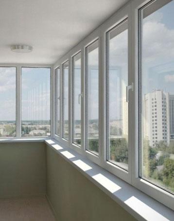 Качественное остекление балконов и лоджий.